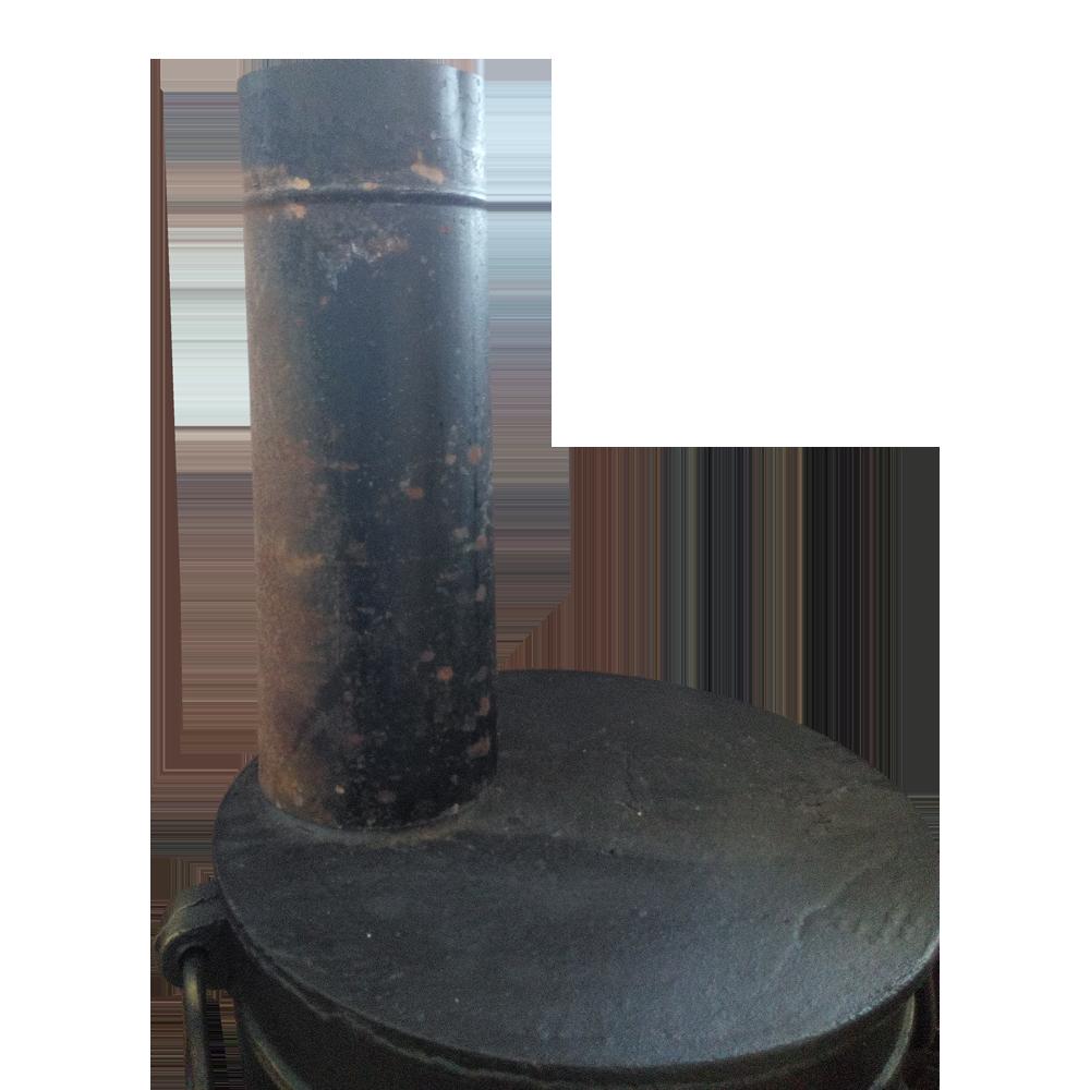 Конусная труба - переходник с диаметра 120мм. на 115 мм.
